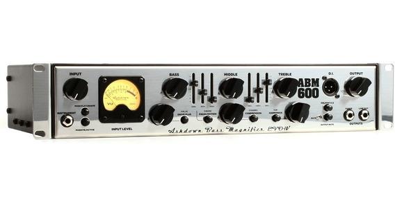 Amplificador Ashdown Abm 600rc Evo Iv Cabezal Bajo 600