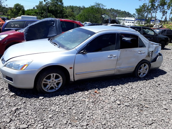 Sucata Honda Accord 150cvs Gasolina 2007 Rs Cai Peças