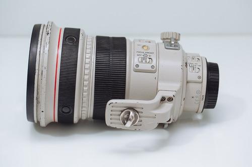 Imagem 1 de 10 de Lente Canon 200 F2 L Is
