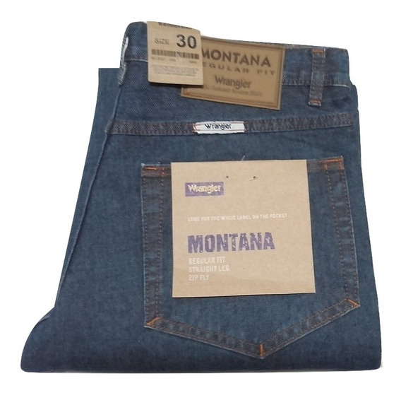 Jeans Hombre Wrangler Montana Recto T.especial(6 Sin Interés
