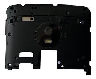 Lente De Vidro Câmera Moto G5 Xt1672 Completa Com Flash
