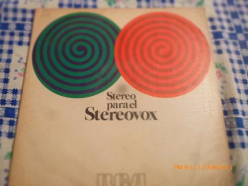 Vinilo Lp De Stereo Para El Sterovox (u1084