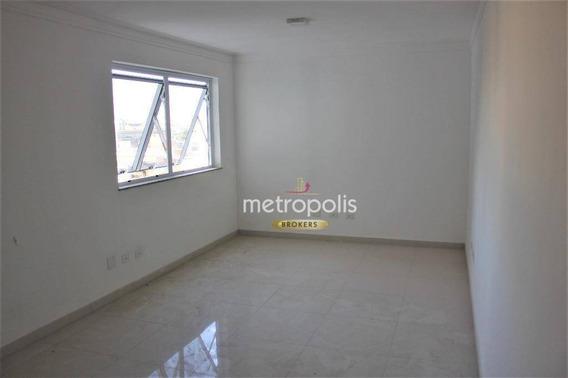 Sala Para Alugar, 25 M² Por R$ 1.200,00/mês - Nova Gerti - São Caetano Do Sul/sp - Sa0440