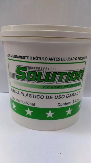 Solution Limpa Plasticos Box 21 3,6 Kilos
