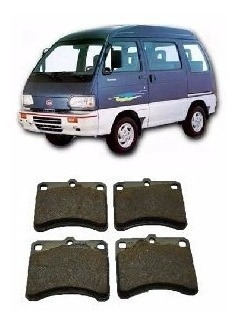 Imagem 1 de 4 de Pastilha Freio Dianteira Asia Motors Towner 99 98 A 93