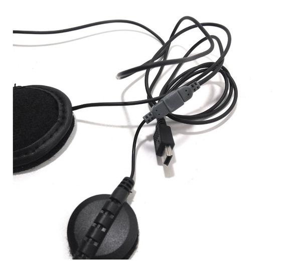 Kit Auriculares Y Microfono Para Intercomunicador V8 Moto Ejeas