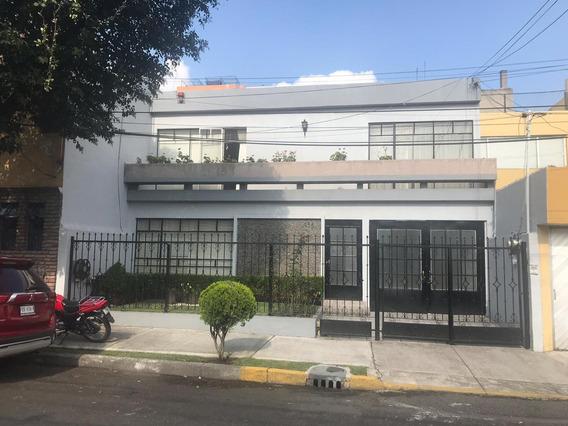 Rento Ampla Habitacional En Del Valle Centro Amueblado