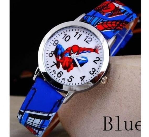 Relógio Infantil Homem Arranha (novo Com O Melhor Preço)