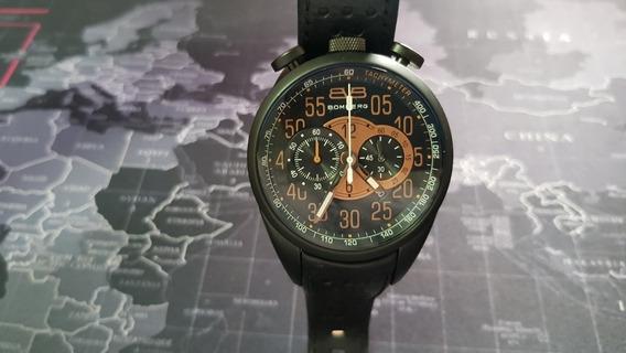 Reloj Bomberg 100% Original 1968 Chronograph Ns44chpba Usado