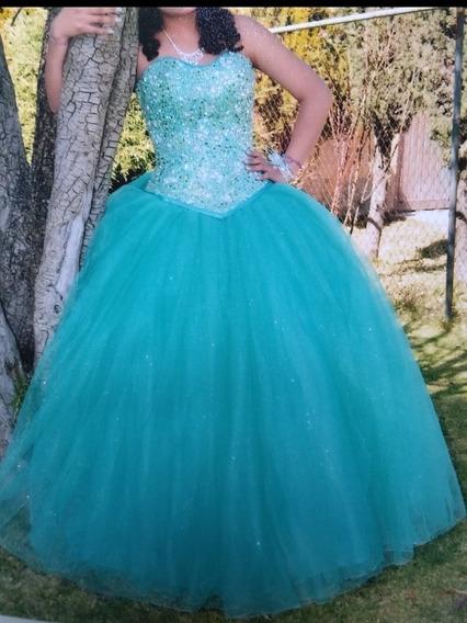 Vestido De Xv Años Color Menta