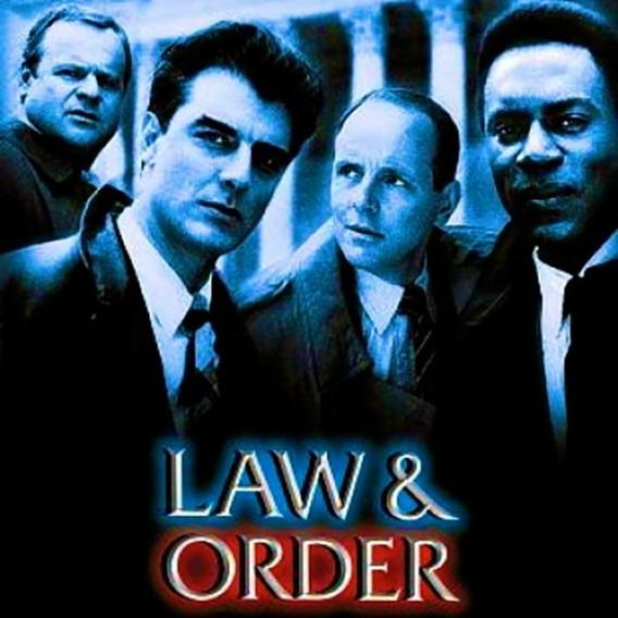 Law & Order 1990 Completa Legendada 20 Temporadas + Encarte.