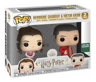 Hermione Granger Y Viktor Krum Harry Potter Funko Exclusivo