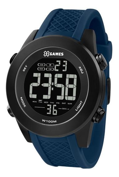 Relógio X-games Masculino Xmnpd002 Pxdx Aço Preto Digital