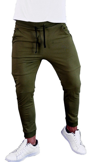 Pants Tipo Jogger Deportivo Skinny Colores Fit Envío Gratis