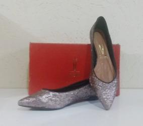 4e33d9ee14 Sapato Scarpin Dourado Envelhecido Aberto - Sapatos para Feminino no ...