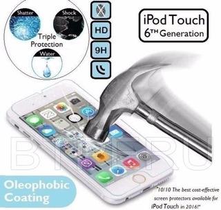 Mica Vidrio Templado iPod Touch 5 5g 6 6g Protector Pantalla