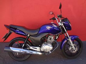 Honda Cg 150 Titan Mix Ex 2012 Azul