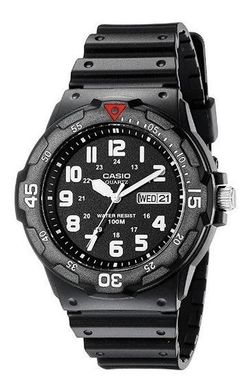 Reloj Para Hombre Casio De Cuarzo Deportivo Negro