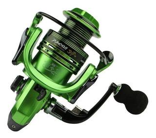 Molinete De Pesca Profissional 14 Rolamentos Verde Xf 2000