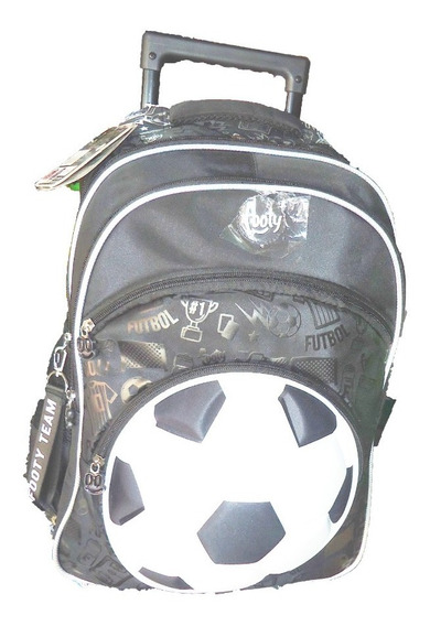 Mochila Footy C/carro 18 - Fútbol-pelota Led