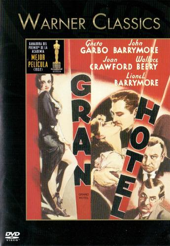 Imagen 1 de 3 de Gran Hotel Grand Hotel Greta Garbo Pelicula Dvd