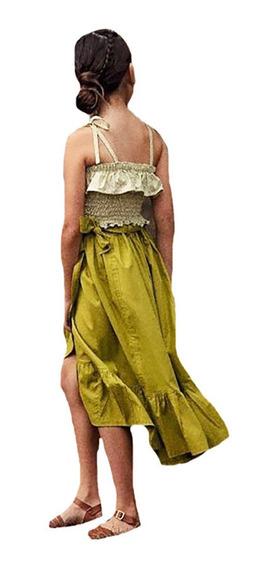 Falda Para Niña Y Top Diferetes Colores Y Modelos