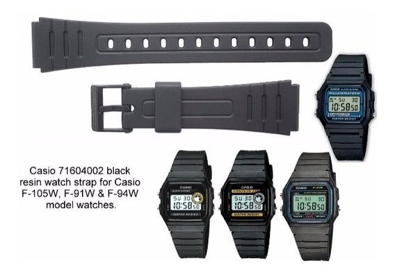 Pulseira Relógio Casio F91w F94w