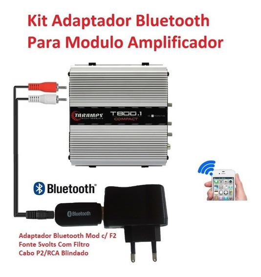Adaptador Bluetooth Para Módulo Amplificador + Frete Barato