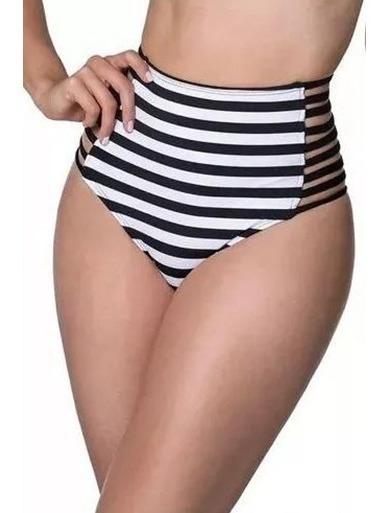 Biquini Fio Hot Pants Cintura Alta Calcinha Moda Praia Verão