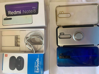 Xiaomi Redmi Note 8 Pro + Earbuds Nuevos