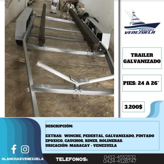 Trailer Galvanizado Lv444