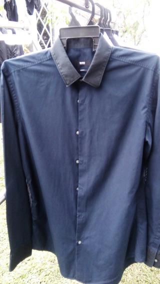 10 Camisas Boss, Zara, Hilfiger,polo Ralph Lauren, Dnky, Etc