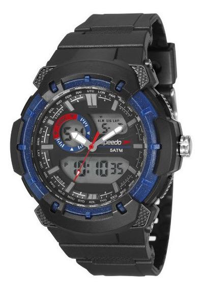Relógio Speedo Masculino 81184g0evnp2 Analógico-digital