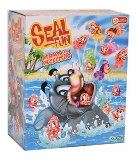 Seal Fun Atrapa Los Peces Juego Original Ditoys Casa Valente