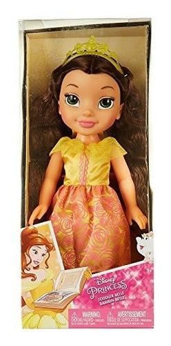 Imagen 1 de 2 de Disney Princess Toddler Belle Jakks 14 La Bella Y La Bestia