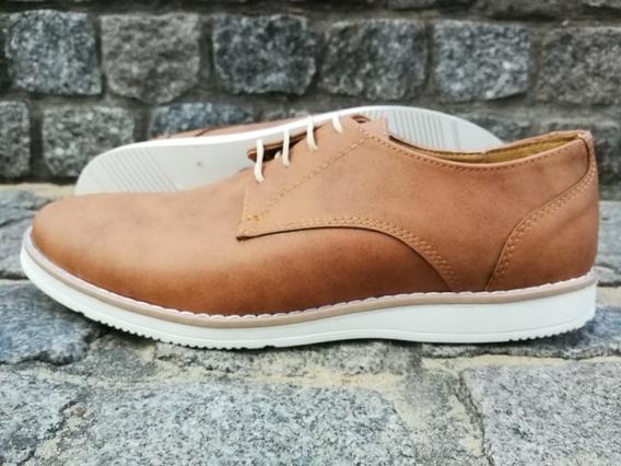 Zapato De Hombre De Vestir * Cuero Ecológico * Sommet Art212