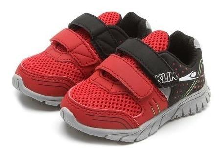 Tênis Infantil Klin Freedom 481.050 Vermelho Running 10650