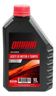 Aceite Lubricante Motores 4t 1 Litro Omaha Rutia C2 40