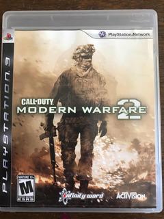 Call Of Duty Modern Warfare 2 Ps3 Con Envío Gratis