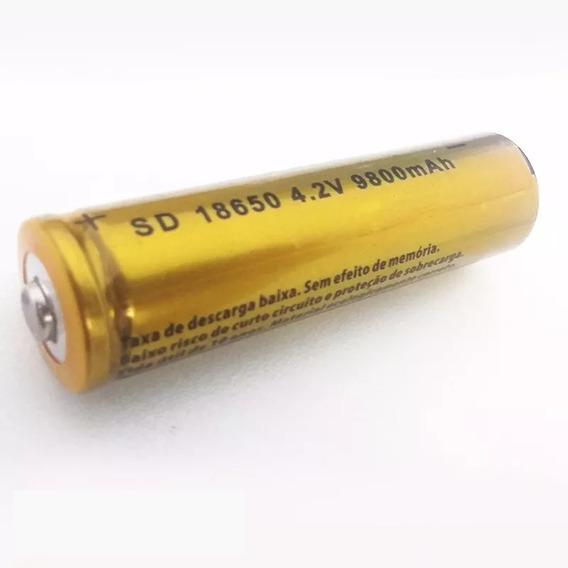 Kit 4 Baterias Recarregáveis 8800mah Lítio 18650 3.7 / 4.2 V