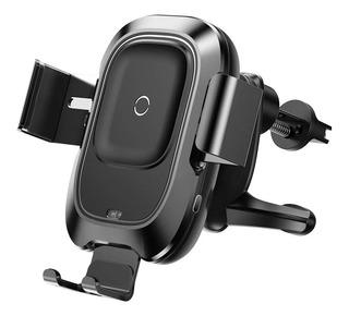 Soporte Celular Auto Porta Cargador Inalambrico Qi Baseus