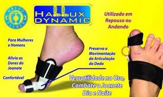 Corretivo Para Joanete Hallux Dynamic Unilateral Preto
