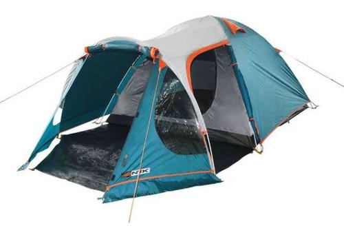 Imagem 1 de 10 de Barraca Camping 3/4 Indy Pessoas Teto Aluminizado Uv 2500mm