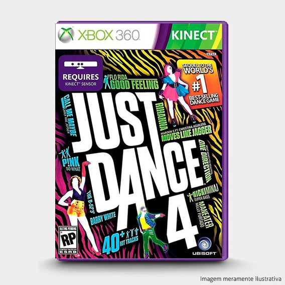 Just Dance 4 : Original Xbox 360 - Novo