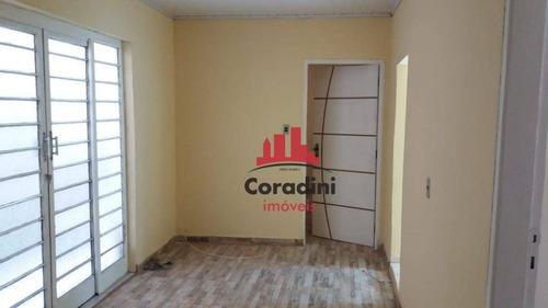 Imagem 1 de 11 de Casa Com 2 Dormitórios À Venda, 75 M² Por R$ 210.000,00 - Jardim São Domingos - Americana/sp - Ca2158