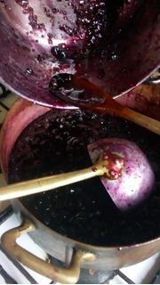 Mermelada De Frambuesa Y Arándanos.casera .fruta