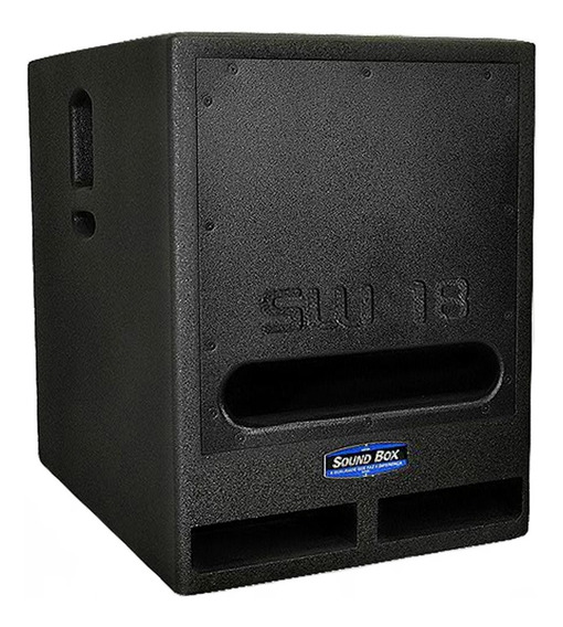 Subwoofer Soundbox Grave Ativo 18 Sw18 1400 Watts Rms