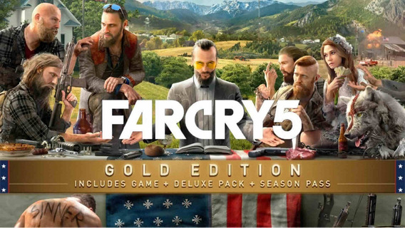 Far Cry 5 Gold Edition (steam Offline)