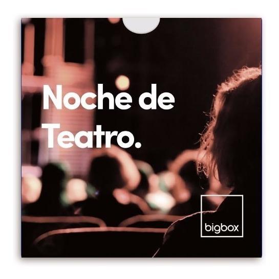 Entradas Teatro Regalo Bigbox