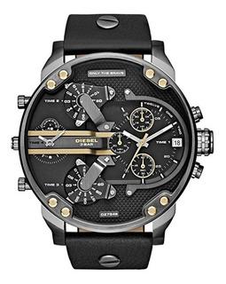 Diesel Watches Mr. Daddy 2.0 Multifunction Leather Reloj